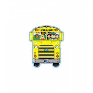 School Bus Two-Sided Decorat..