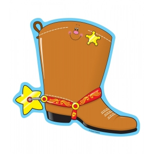 Cowboy Boot Notepad