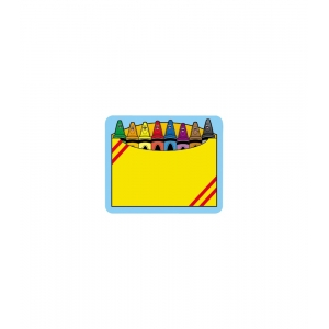 Crayon Box Name Tags