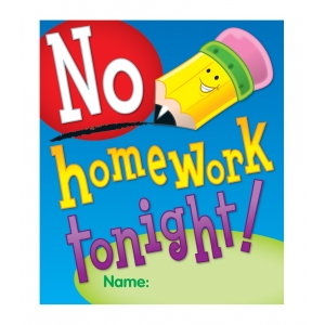 No Homework Tonight Ready Re..