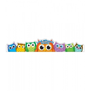 Colorful Owls Crowns