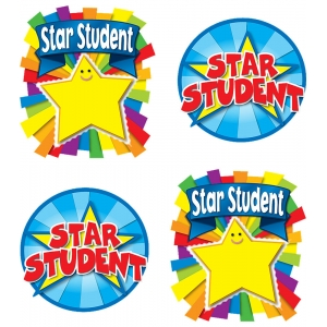 Star Student Temporary Tattoos