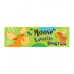 Moose & Friends Bookmarks