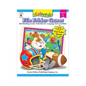 Colorful File Folder Games F..