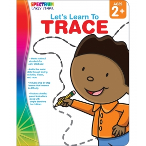 Let's Learn to Trace Ages 2+..