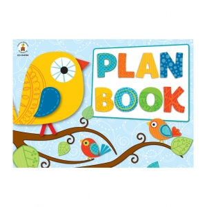 Boho Birds Plan Book