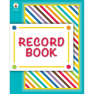 Color Me Bright Record Book
