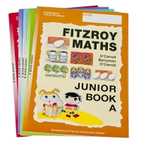Fitzroy Maths Junior Level Work Books 6-10
