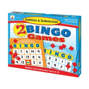 Addition & Subtraction Bingo..