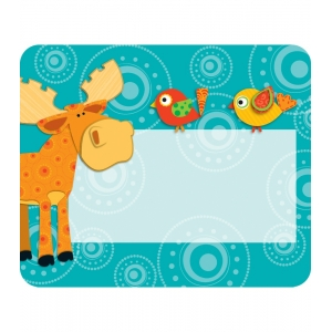 Moose & Friends Name Tags