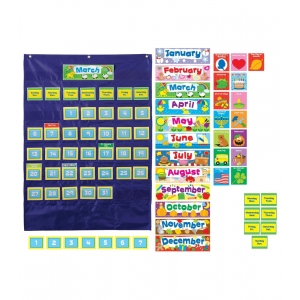 Blue Deluxe Calendar Pocket ..