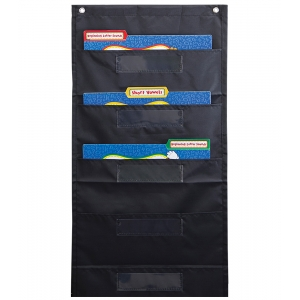 Black File Folder Storage Po..
