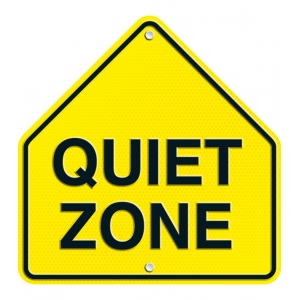 Quiet Zone Two-Sided Decorat..