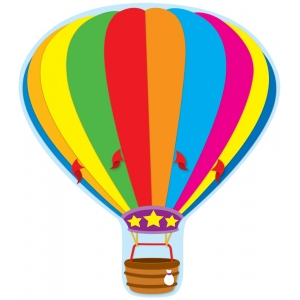 Hot Air Balloon Two-Sided De..