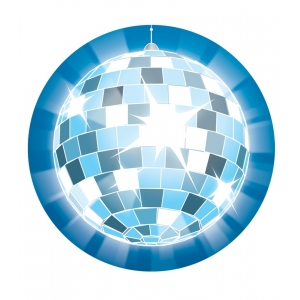 Disco Ball Two-Sided Decorat..