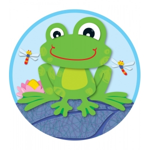 FUNky Frog Two-Sided Decorat..