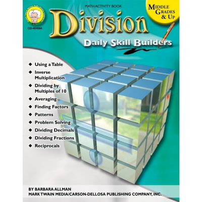 Division Daily Skill Builders Middle Grades & Up Book
