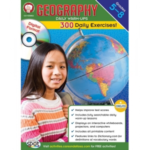Geography Daily Warm-Ups CD-..