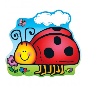 Ladybug Two-Sided Decoration