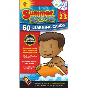 Summer Splash Learning Cards..
