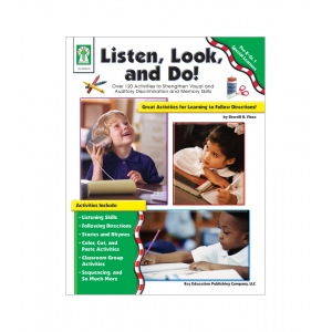 Listen, Look, and Do! Book