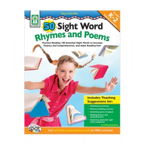 50 Sight Words Rhymes And Po..