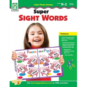 Super Sight Words Color Phot..