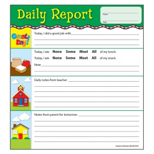 Daily Report Notepad