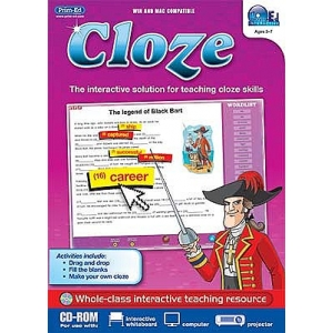 Cloze Interactive CD Ages 5-7