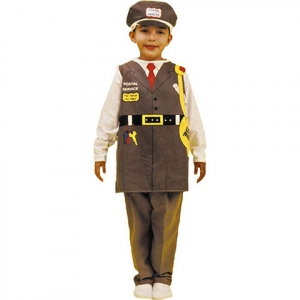 Career dressup costume: Post..