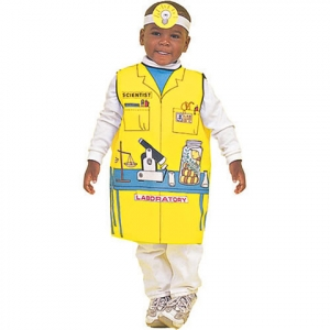 Career dressup costume: Scie..