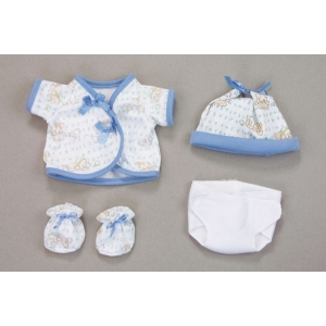 Baby Doll's Blue clothing