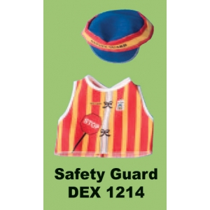 Dolls Dressup: Safety Guard