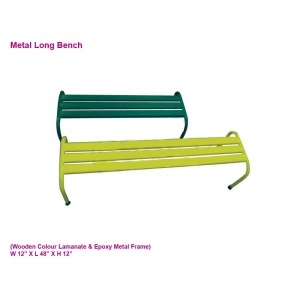 Metal Long Bench 36 in [36 i..