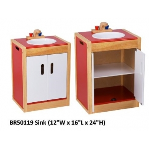 Wooden Kitchen Set - Sink [1..
