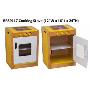 Wooden Kitchen Set - Cooker ..