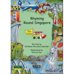 RHYMING ROUND SINGAPORE [BOOK & AUDIO CD]