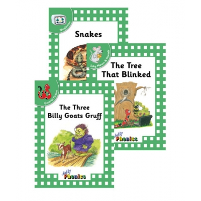 Jolly Readers Level 3 Green Complete Set - Print
