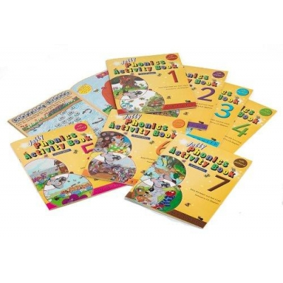 Jolly Phonics Activity Books Set 1-7 - Print