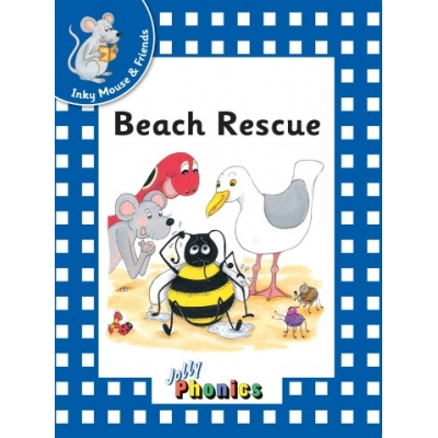 Jolly Readers Level 4 Blue 'Inky & Friends' pack of 6 - Print