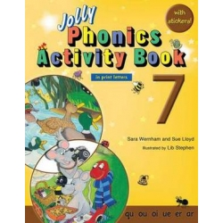 Jolly Phonics Activity Book 7 - Print