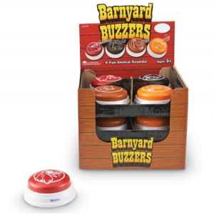 BARNYARD BUZZERS- SET OF 12