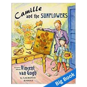 Camille And Sunflowers - Big..