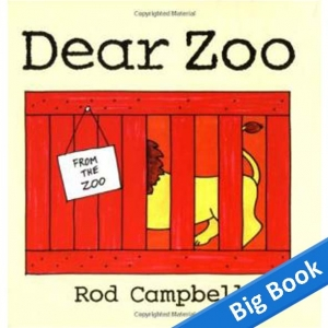 Dear Zoo - Big Book