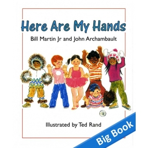 Here are My Hands - Big Book