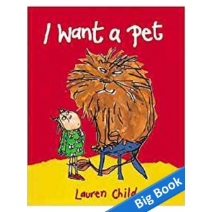 I Want A Pet - Big Book
