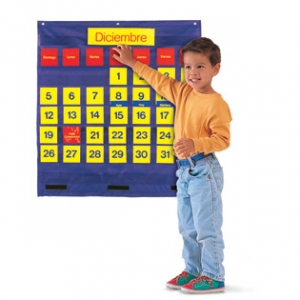 Bilingual Monthly Calendar P..