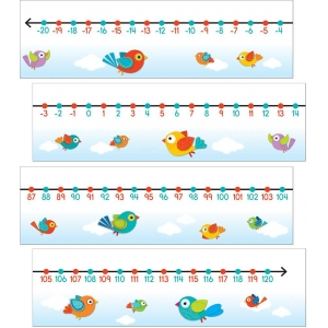 Boho Birds Number Line Mini ..