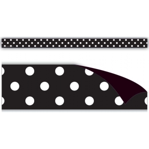 Black Polka Dots Magnetic St..