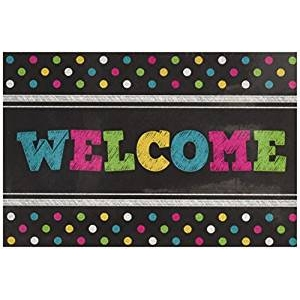 Chalkboard Brights Welcome P..